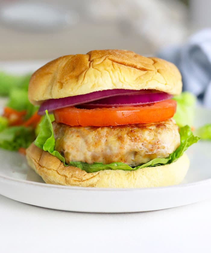 Healthy Chicken Burgers Low Carb Paleo Detoxinista