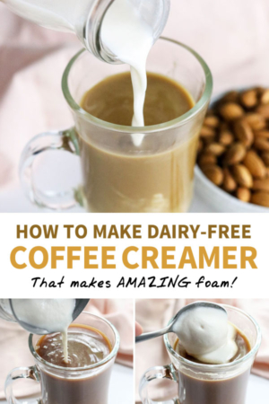 healthy coffee creamer pin