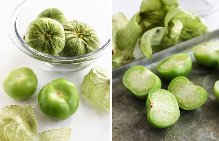 what green tomatillos look like