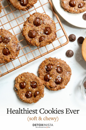 healthy cookies pin
