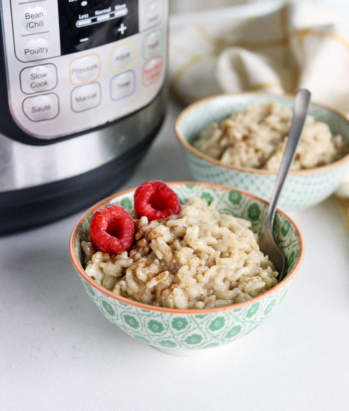 Instant Pot Rice Pudding (with NO eggs!)