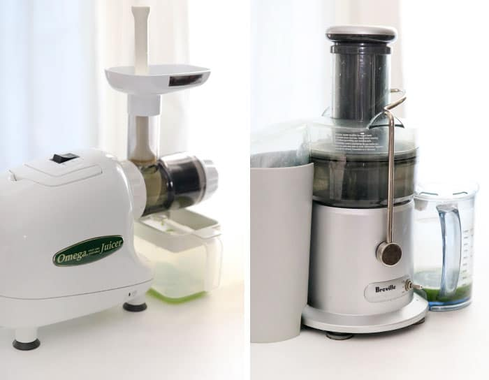 omega and breville juicers for review