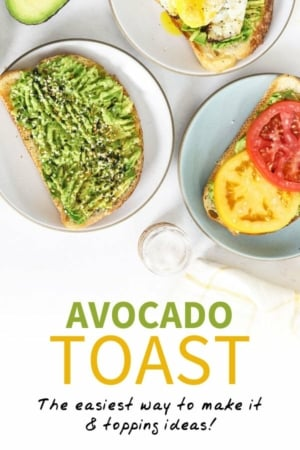 avocado toast pinterest