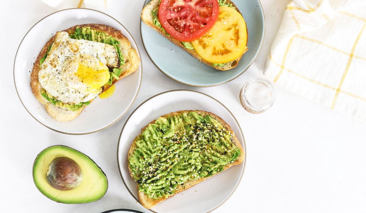 avocado toast toppings