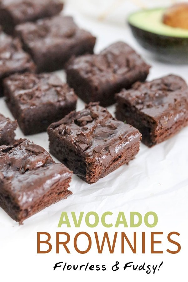 avocado brownies pin