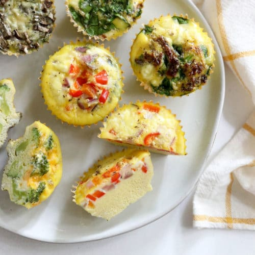 texture of egg muffins