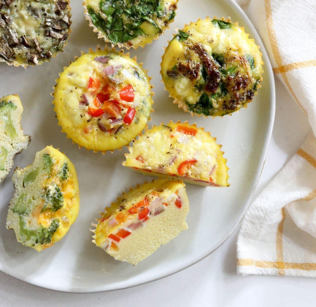 Egg Muffins (Easy Breakfast Meal Prep!) | Detoxinista