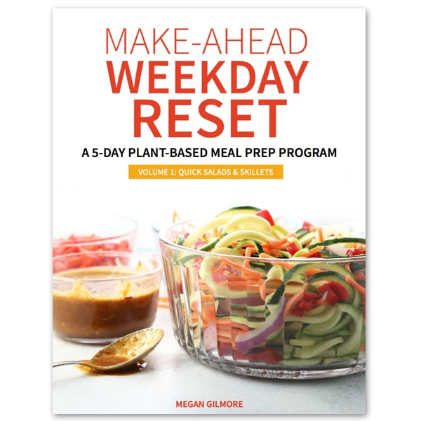 make ahead reset program cover