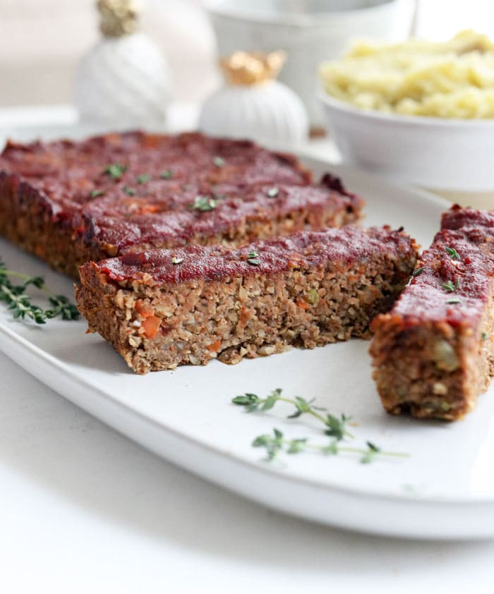 Vegan Meatloaf Easy Lentil Loaf Detoxinista