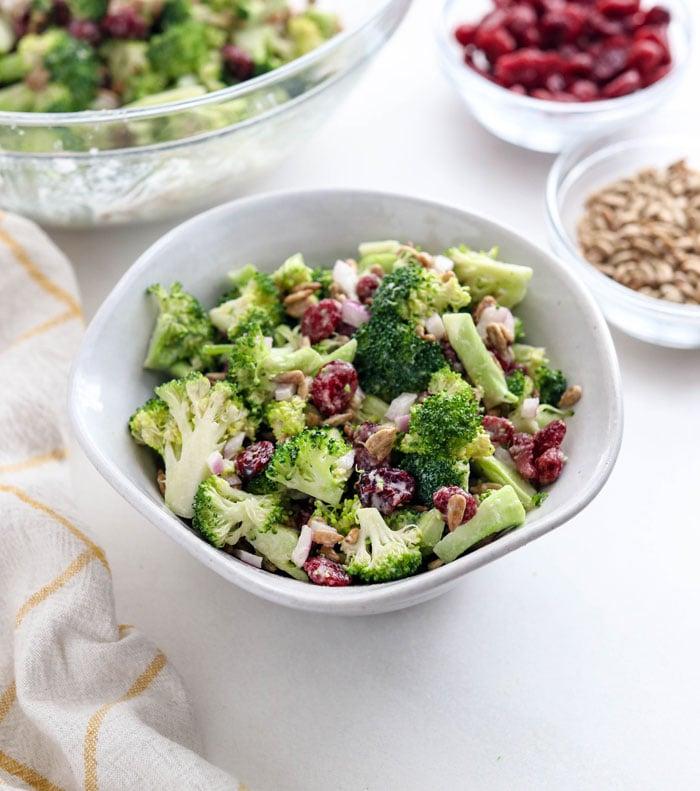 Broccoli Salad Recipe No Mayo Detoxinista