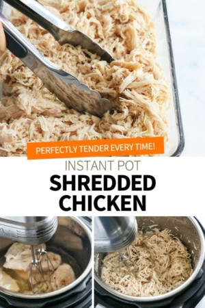 instant pot shredded chicken pin