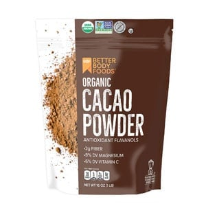 cacao powder bag