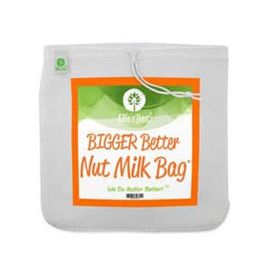 bigger better nut milk bag