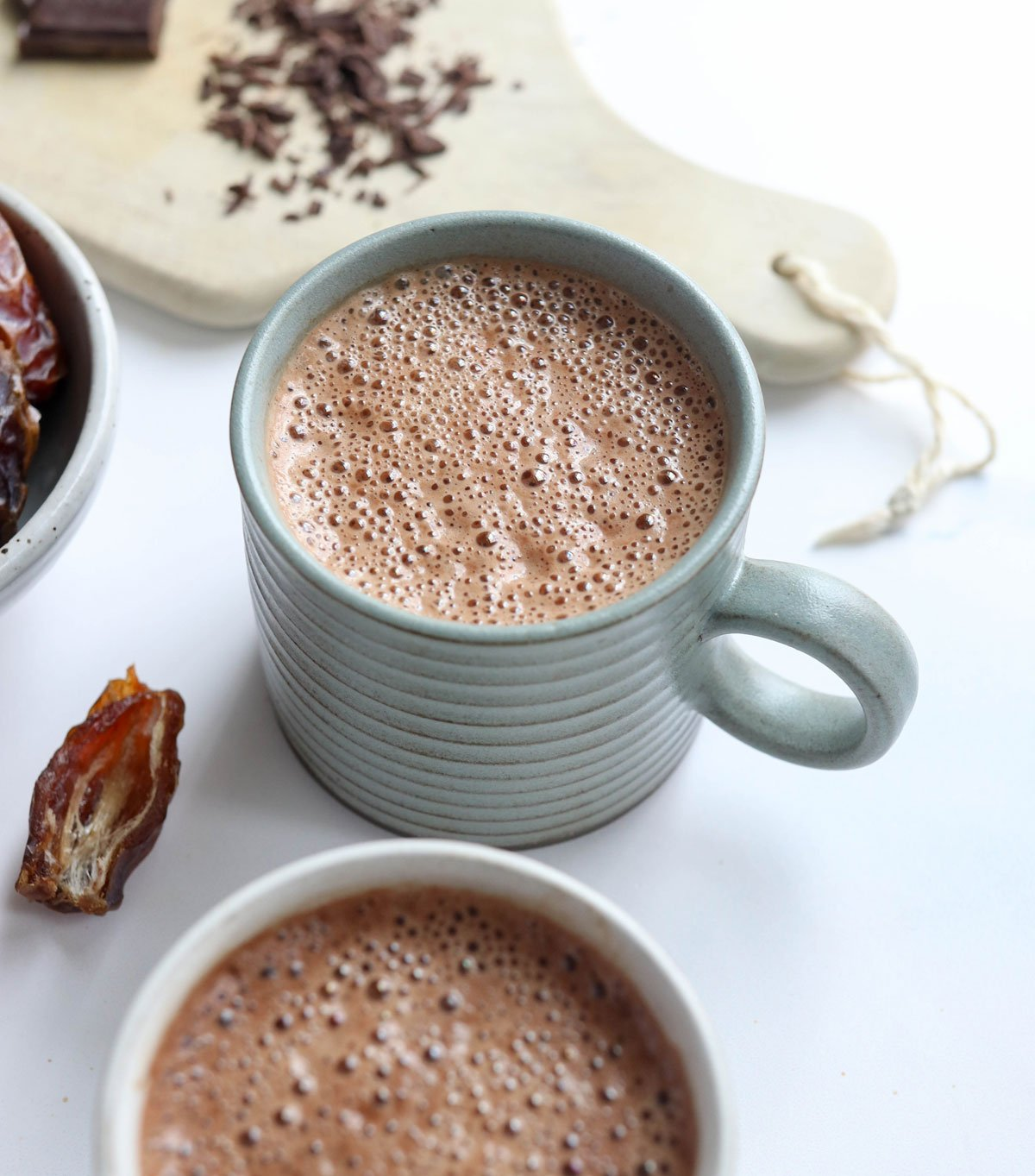 Vegan Hot Chocolate 3 Ingredients Detoxinista