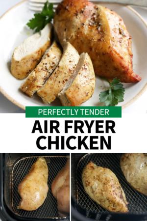 chicken breasts in air fryer