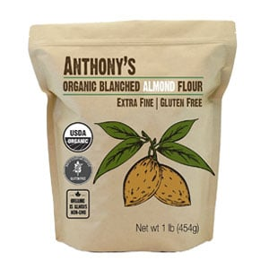 blanched almond flour bag