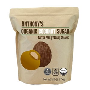 bag of coconut sugar