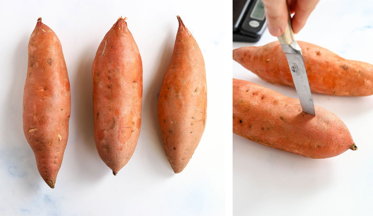 perfect sweet potatoes for baking