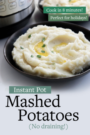 instant pot mashed potatoes pin