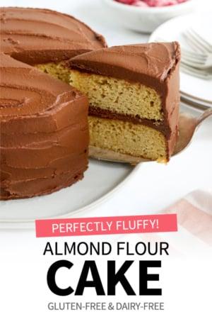 almond flour cake pin
