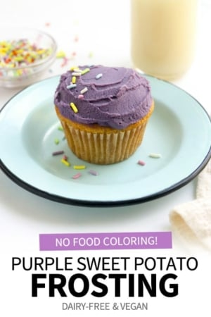 purple frosting pin for pinterest