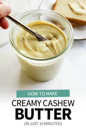 cashew butter pin