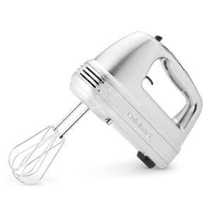 silver cuisinart hand mixer