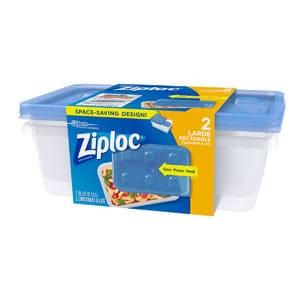 large ziploc container