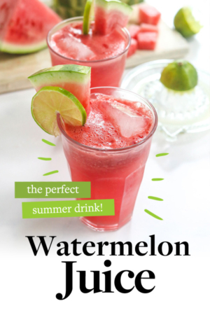 watermelon juice pin for pinterest