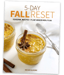 5-day Fall Reset e-book