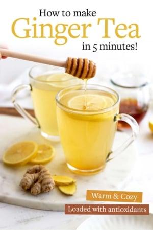 ginger tea pin for pinterest