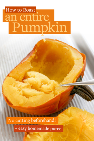 how to roast pumpkin pin for pinterest