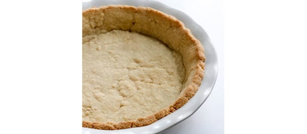 baked pie crust cooling