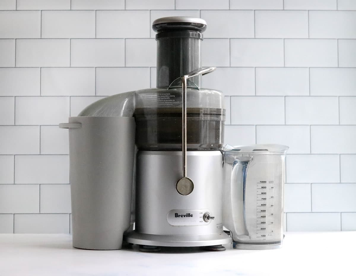 juicer on counter