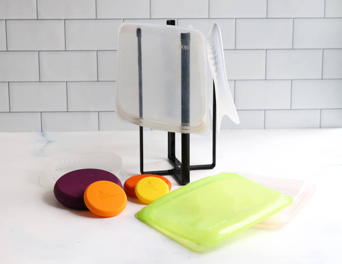 silicone storage on counter