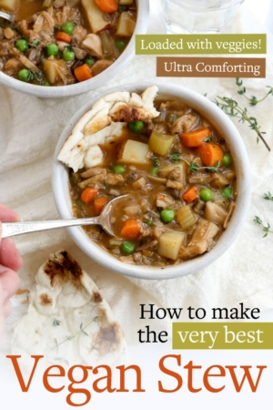 vegan stew pin for pinterest