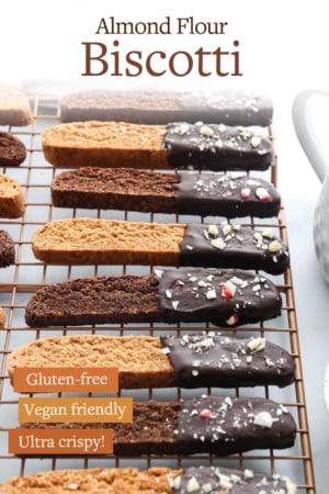 almond flour biscotti pin for pinterest