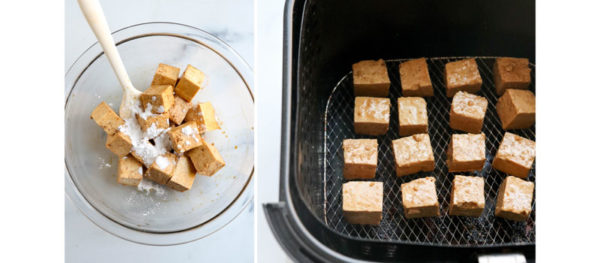arrowroot on tofu