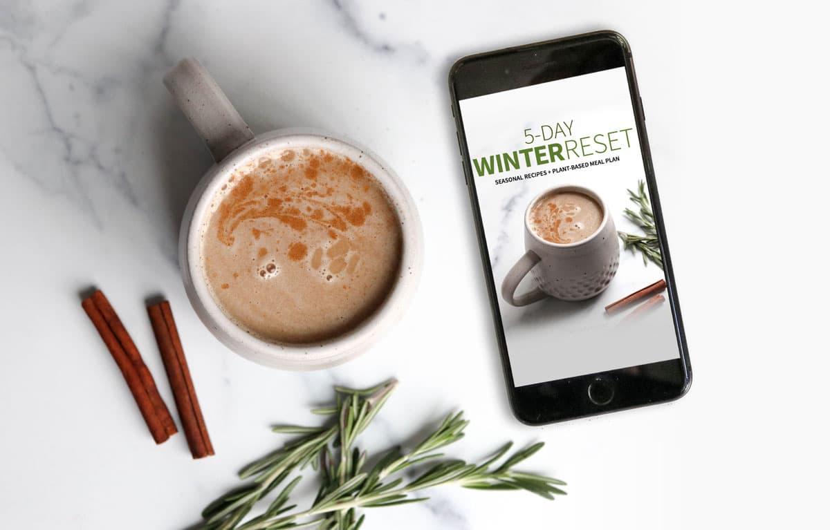 winter reset program on mobile phone