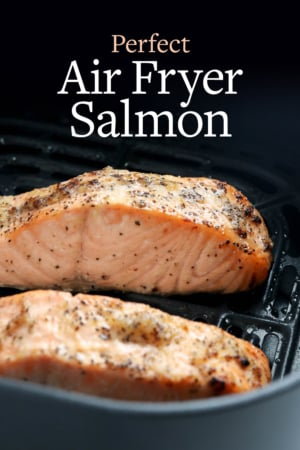 air fryer salmon pin