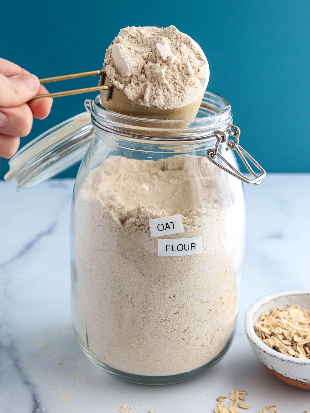 Oat Flour Replacement