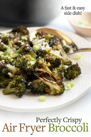 air fryer broccoli pin