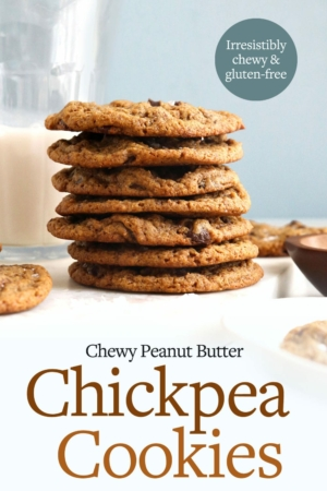 chickpea cookies pin