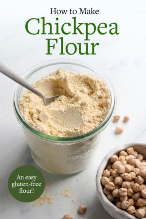 chickpea flour pin
