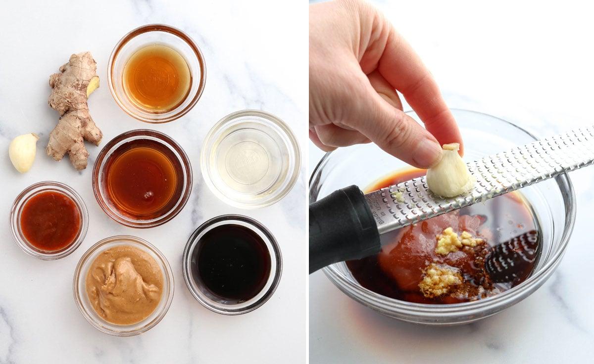 peanut dressing ingredients