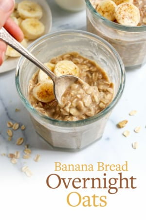 banana overnight oats pin