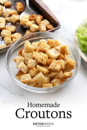 croutons pin for pinterest