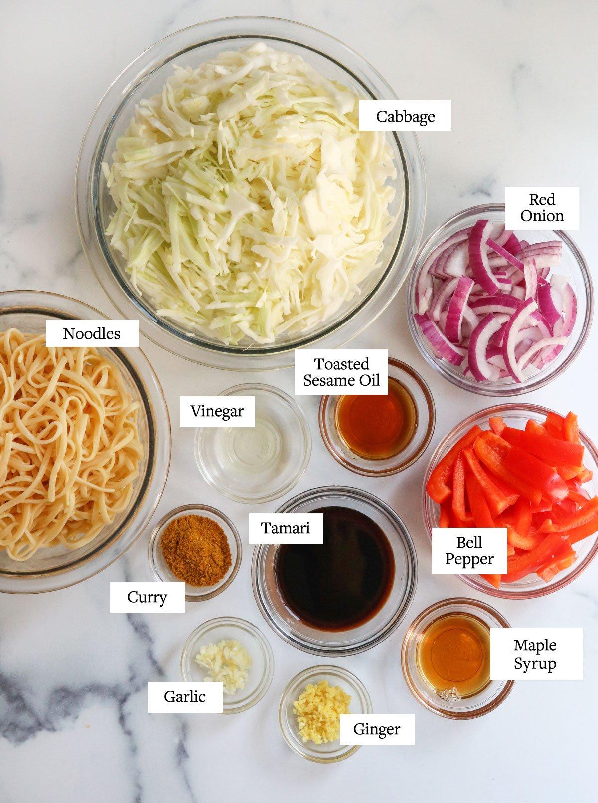 singapore noodle ingredients