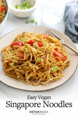 singapore noodles pin